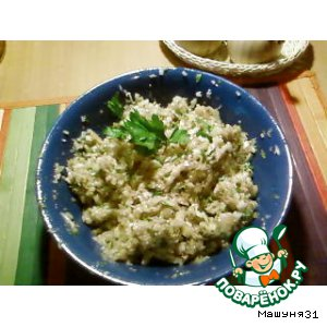 Рецепт: Армянская баклажанная икра