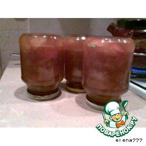 Рецепт: Пряное варенье к шашлычу