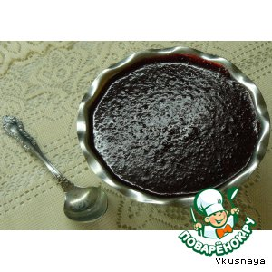 Рецепт: Сливовый джем с шоколадом