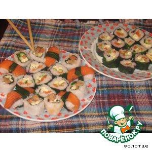 Рецепт: Маки-суши