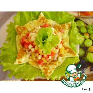 Рецепт: Салат Звезда Давида