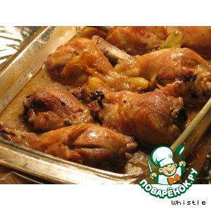 Рецепт: Курица по-французки