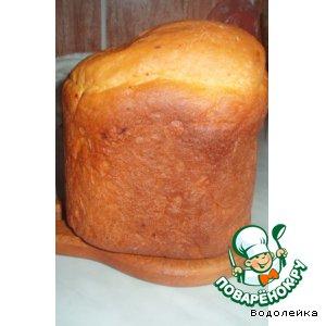 Рецепт: Хлеб с сушеными помидорами, сыром и шафраном