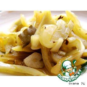 Рецепт: Зеленые помидоры по-итальянски
