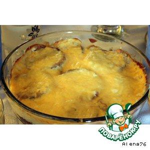 Рецепт: Пикантные баклажаны
