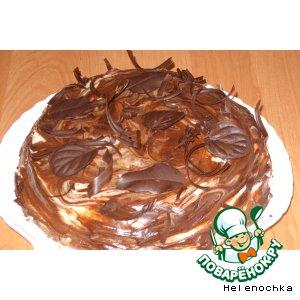 Торт Осенняя поляна