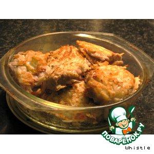Рецепт: Свинина в картофельной корочке