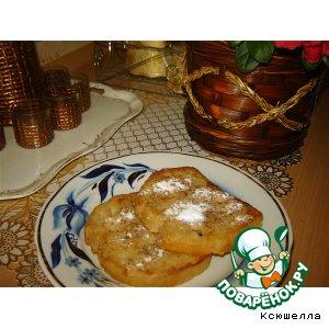 Рецепт: Банановые французские тосты