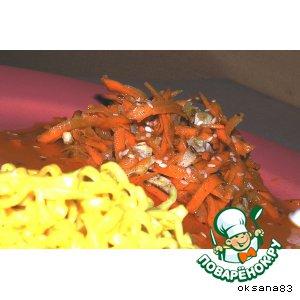 Рецепт: Острая морковка