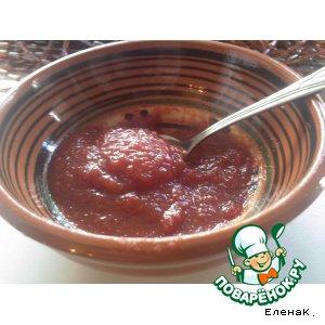 Рецепт: Мой кетчуп