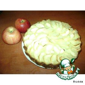 Рецепт: Цветаевский пирог с яблоками
