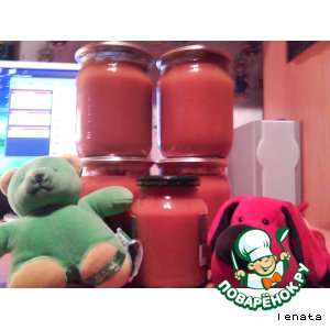 Рецепт: Кабачковая икорка