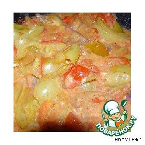 """Рецепт: Салат """"Овощной"""""""