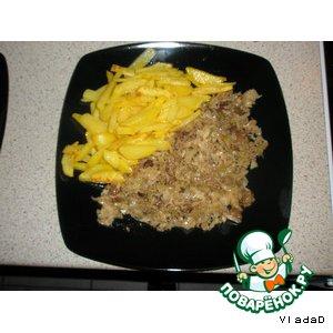 Капуста с изюминкой – кулинарный рецепт