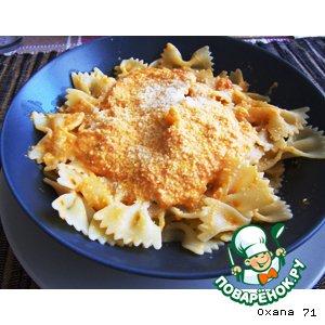 Рецепт: Фарфалли с соусом а-ля Сицилиана