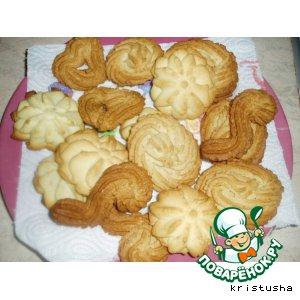 Орехово-ванильное печенье