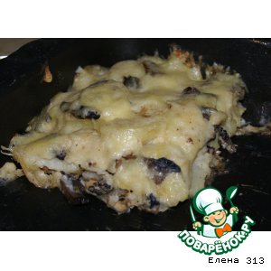 Рецепт: Запеканка из консервированной рыбы с картофелем