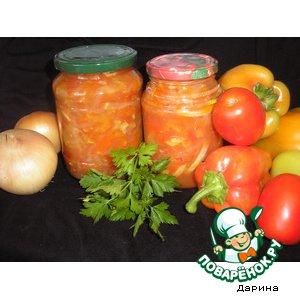 Рецепт: Кабачковый салат Анкл Бенс