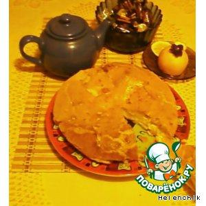 Рецепт: Пирог на майонезе
