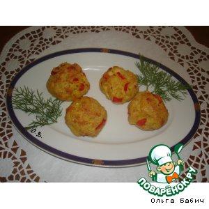 Рецепт: Слойки с креветками