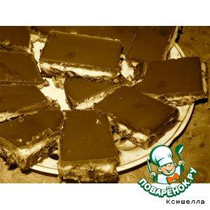 """Рецепт: Канадское пирожное """"Нанаимо"""""""