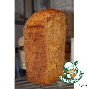 Рецепт: Хлеб с вялеными помидорами и сыром