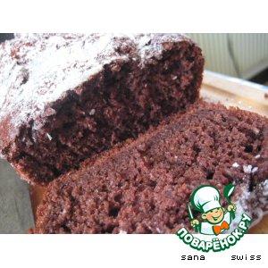 Рецепт: Кокосово-шоколадный кекс