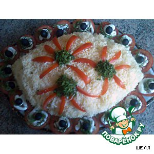 Рецепт: Салат с тунцом Третий глаз