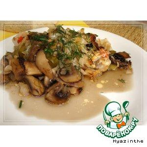 Рецепт: Солянка грибная