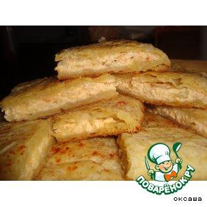 Рецепт: Пирог с луком