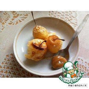 Рецепт: Печеные яблочки