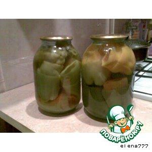 Рецепт: Болгарский перец для фарширования на зиму
