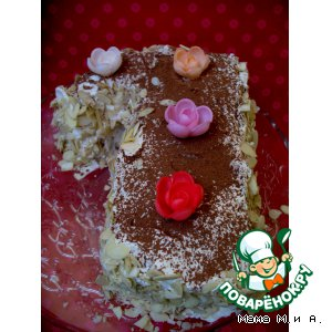 Рецепт: Французский торт «Марджолайн»