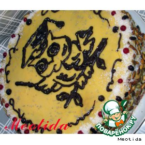 Рецепт: Торт Ученье-свет