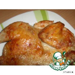 Рецепт: Цыплeнок тапака