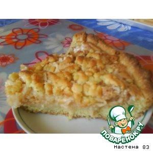 """Рецепт: Пирог """"Яблочная мечта"""""""
