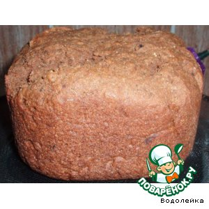 Хлеб с черносливом – кулинарный рецепт