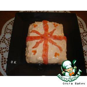 Рецепт: Салат Подарочный