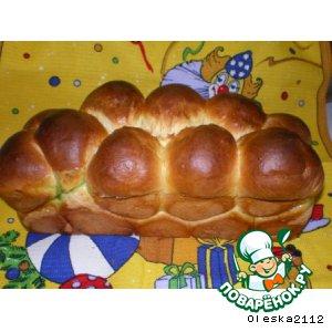 """Рецепт: Хлеб к чаю """"Любимый"""""""