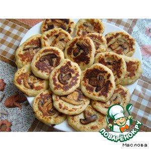 Рецепт: Белорусские драники с грибами