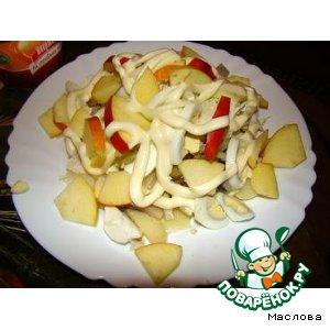 Рецепт: Закусочный салат