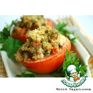 Рецепт: Фаршированные помидоры с мятой и фетой