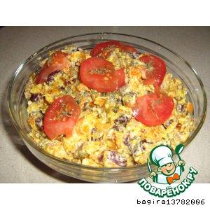 Рецепт: Салат фасолевый