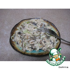 Рецепт: Салат «Лохматый»