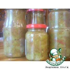 Рецепт: Заправка для супа из незрелых помидоров