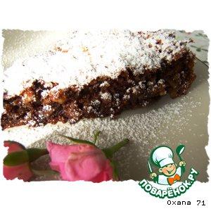 Шоколадно-орехово-Амареттный торт – кулинарный рецепт