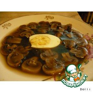 Рецепт: Заливные грибы