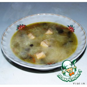 Рецепт: Суп с семгой