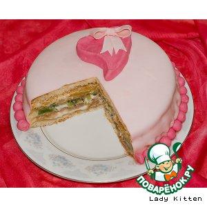 Рецепт: Торт Для любимого