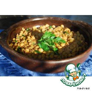 Рецепт: Пряный суп из чечевицы